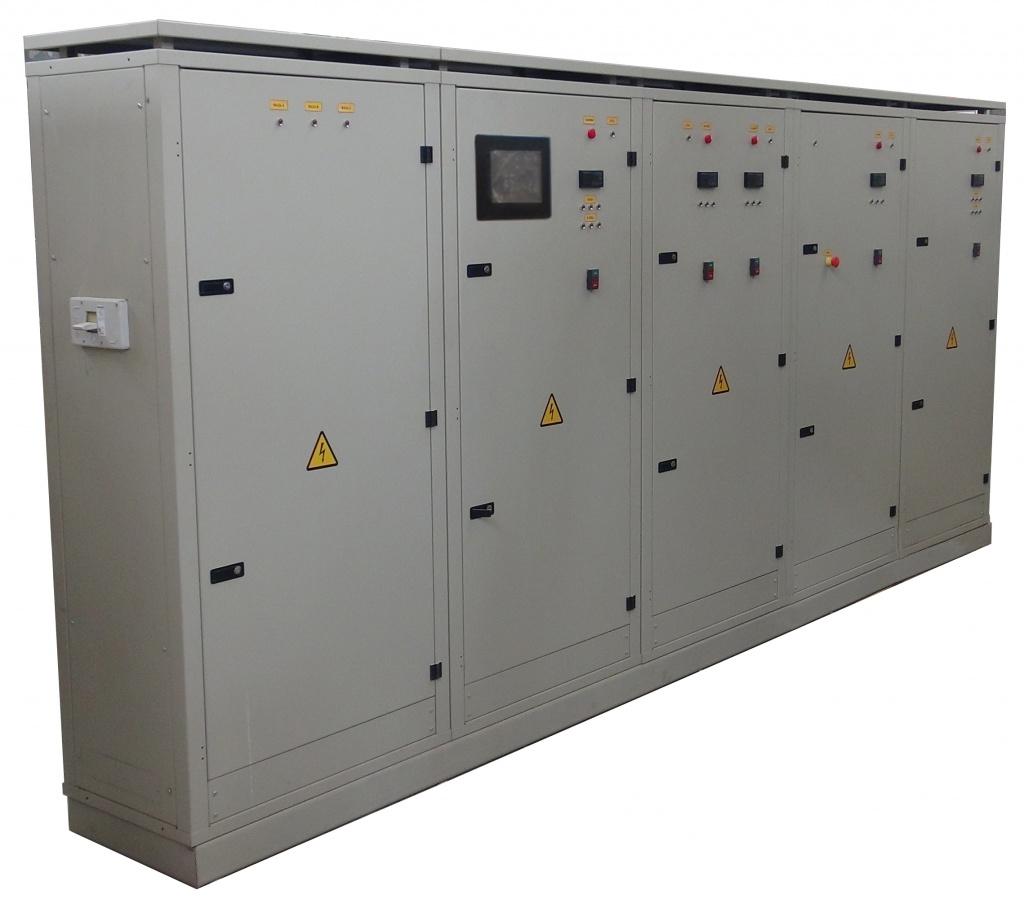 Шкафы управления модульным агрегатом